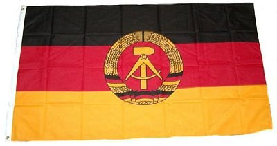 Fahne / Flagge DDR NEU 60 x 90 cm Fahnen Flaggen