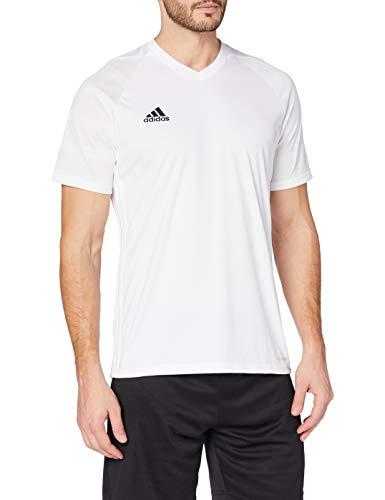 adidas Camiseta Tiro 17 para hombre - BK5435, XS, Blanco