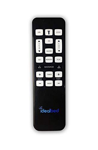 iDealBed Leggett and Platt iEscape Adjustable Bed Base, Wireless, Wall Hugger, Massage, Zero Gravity, Queen