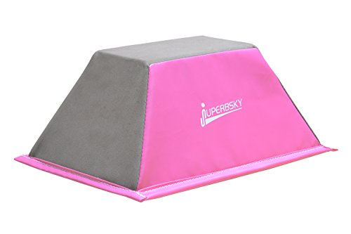 Juperbsky Stunt Training Stand, Cheerleading Balance Trainer (Pink)