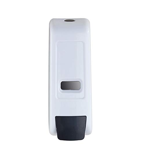 NYKK Dosificador de jabón Caja de dispensador de jabón de Espuma Manual de Pared Dispensador de jabón de baño de Hotel Dispensador de jabón de Mano 600 ml Blanco dispensador de jabón (Size : White A)