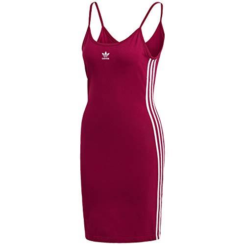 adidas Originals Vestido con correa de espagueti para mujer - Rosa - 3X más