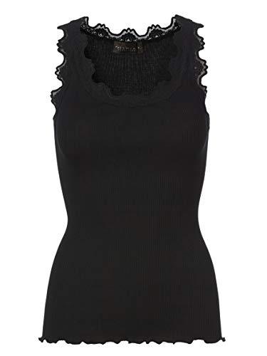 Rosemunde Mujeres Silk Sleeveless Top Negro S