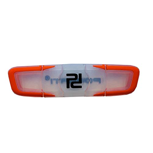 ouken Raqueta de Tenis Antivibrador de Primera Calidad Duradera a Largo Gran Duradera para Jugadores de Tenis de Silicona Suave Amortiguador de Orange