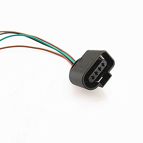 Adaptador de extensión de bobina para sensor de presión de aire acondicionado de 4 pines para Passat Golf Beetle A4 TT A6 S4 1J0973704