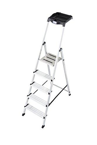 Preisvergleich Produktbild KRAUSE Stehleiter Secury mit Multigrip System,  5 Stufen,  126535