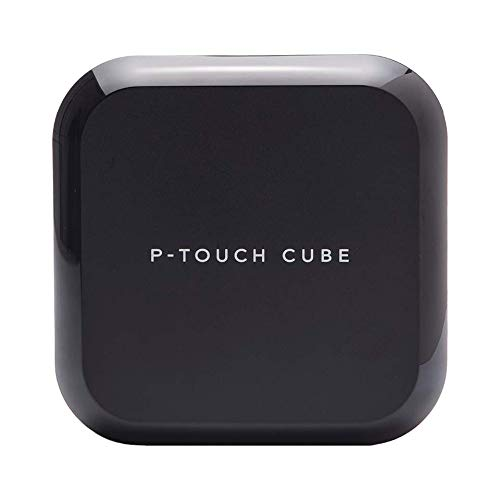 Brother PT-P710BT Cube - Etiquetadora (Bluetooth, USB, 180 x 360 ppp, P-touch Editor) color negro