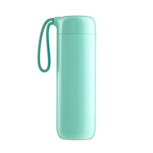Gobelets Water Cup Creative Ne Doit Pas Isoler Les en Acier Inoxydable pour Hommes Et Les De Bureau pour Femmes Peuvent Être Verts (Color : Green, Size : 21.5 * 7.1cm)