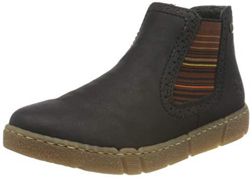 Rieker Damen X1763 Chelsea-Stiefel, schwarz, 39 EU