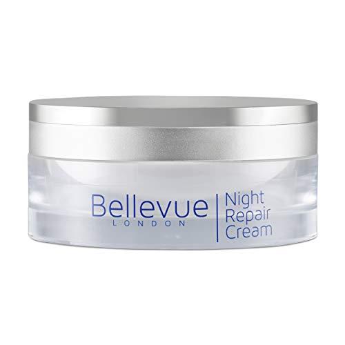Bellevue de Londres Night Repair Cream, Le meilleur visage résistant anti-vieillissement, crème pour le cou, Anti rides, Crème de resurfaçage, Revitalise le teint de peau et d'évènement