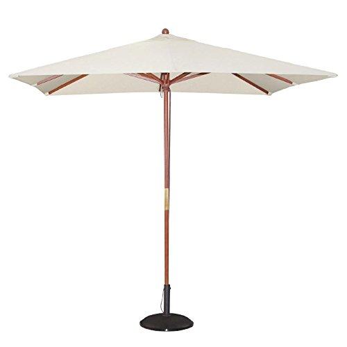 Bolero quadratischer Sonnenschirm creme 2,5m
