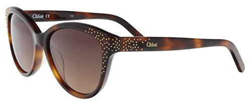 CHLOÉ CE3605S zonnebril CE3605S Chloe Cateye zonnebril 50, bruin