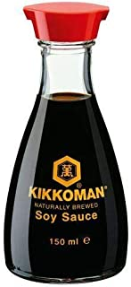 Kikkoman Soy Sauce in Dispenser 5 fl oz (Pack of 2)