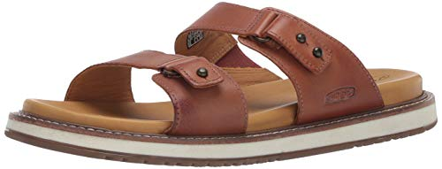 KEEN Women's Lana Slide Sandal, Brown, 7.5