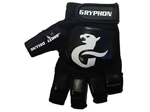 Gryphon G-Mitt Deluxe G4 Hockey-Handschuh, Schwarz (2020/21), Large Left Hand