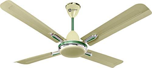 Orient Electric Quadro Ornamental 1200mm Ceiling Fan (Sea Green/Oyester Green)