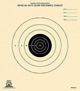 50 Foot Slow Fire Pistol Target Official NRA Target B-2