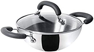 Meyer Trivantage Stainless Steel Triply Cookware Kadai 20cm Small