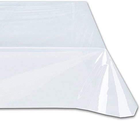 Cieffepi Home Collections Tovaglia da tavola in PVC Trasparente (140x180)