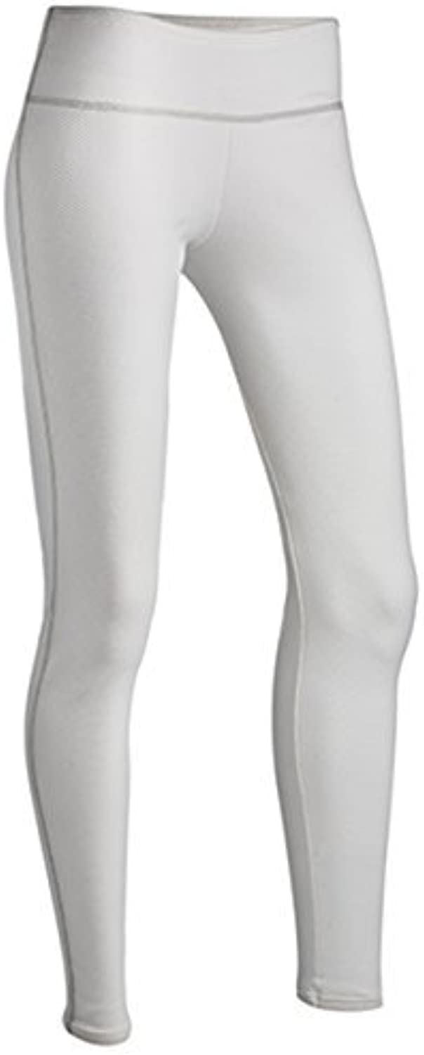 ColdPruf Women's Honeycomb Base Layer Leggings, White, Large by ColdPruf