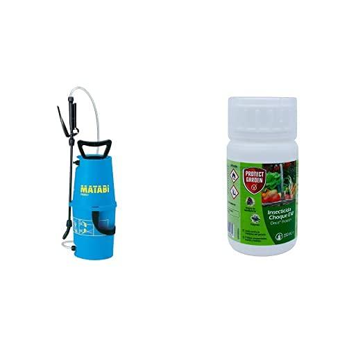 matabi Polita 7- Herramienta Manual De Jardinería, 5L + Decis Protech - Insecticida Polivalente Concentrado para Ornamentales, Frutales Y Horticolas, Pulgones Y Orugas