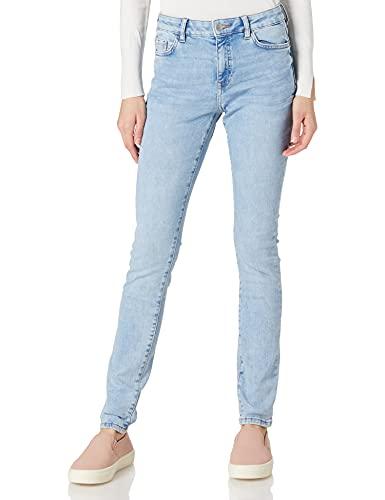 edc by ESPRIT Damen 021CC1B311 Jeans, 903/BLUE Light WASH, 29/32