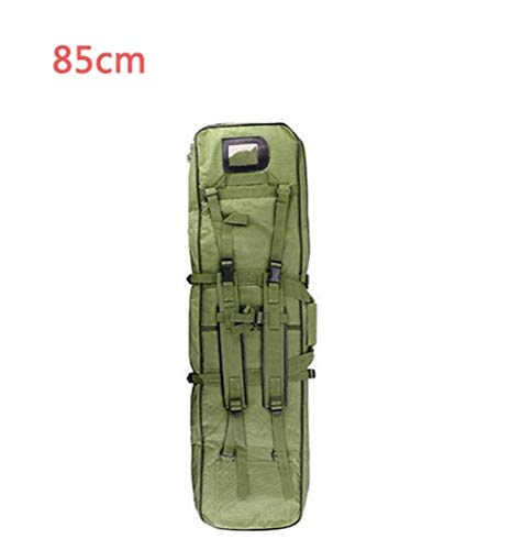 Great Deal! Shefure 85 96 120 cm Nylon Gun Bag Case Rifle Bag Backpack for Sniper Carbine Airsoft Holster Shooting Portable Bags Hunting Accessories (Color : 85cm Green)