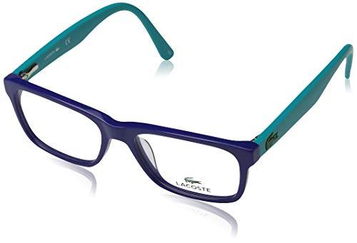Lacoste Unisex-Erwachsene L3612 424 49 Brillengestelle, Blau (Blue)
