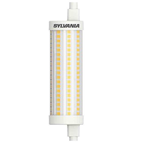 Sylvania R7S LED 118mm Stablampe - LED Halogen Ersatz (15 Watt, 2000 lm, Lichtfarbe: 2700 K), LED Leuchtmittel warmweiß dimmbar [Energieklasse A++] (1 Lampe)