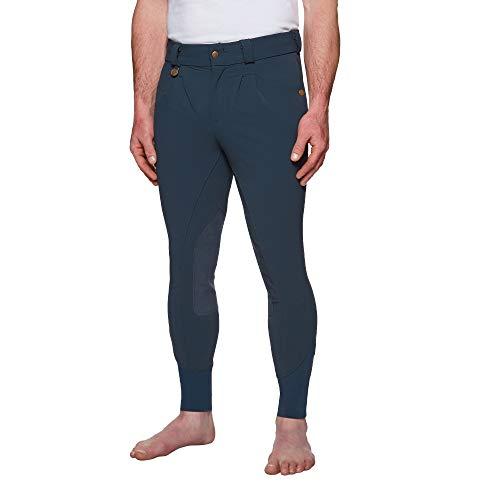 Derby House - Pantaloni da equitazione Elite - Blu - 76 cm