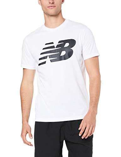 New Balance Camiseta para Hombre con Logo de NB Graphic, Hombre, Camiseta,...