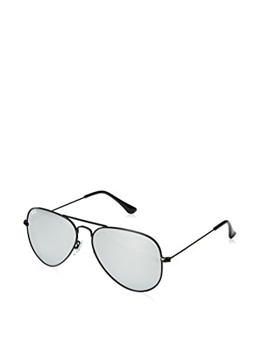 Ray-Ban Aviator Gafas, Negro, One Size Unisex Adulto