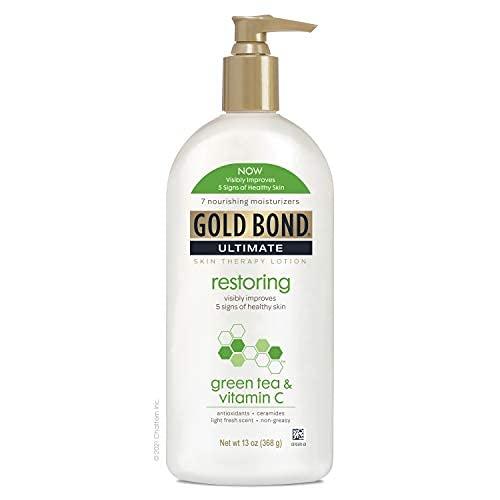 Gold Bond Ultimate Restoring & Vitamin C, Green Tea 13 Ounce