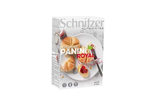 Schnitzer GLUTENFREE Panini Royal Kaiserbrötchen glutenfrei, 6er Pack (6 x 250 g)
