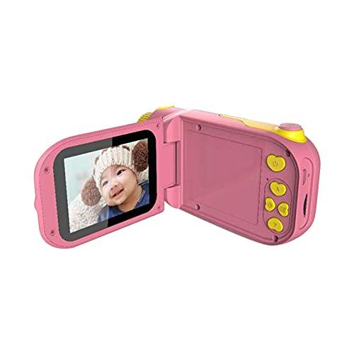 子ども用デジタルカメラ 子供カメラ キッズカメラ ミニカメラ トイカメラ 1000mAh キッズデジカメ 写真 タイマー撮影 自撮り 2.4インチIPS画面 32GB TFカード 多機能 USB充電 子供のおもちゃ ミニカメラ 子供プレゼント 知育 教育 (赤)