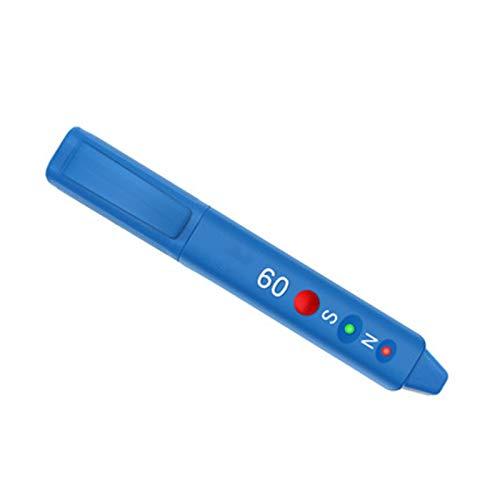 ZHWDD Bolígrafo magnético, bolígrafo pequeño y portátil Que discrimina el Polo Norte, operación precisa y Sencilla del medidor de Gauss, Herramientas de Prueba electrónicas