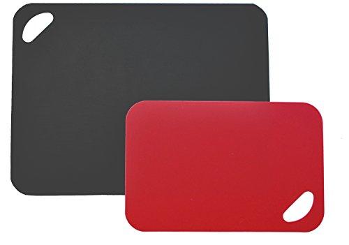 Moha Sneidematten, PE, Eva, schwarz/rot, 38 x 1 x 19 cm, 2-Einheiten