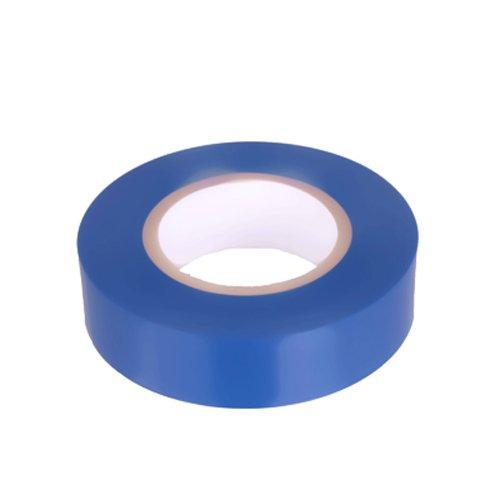 K24–Klebebänder–Nastro isolante in PVC 10metri di lunghezza 15mm di larghezza–blu -