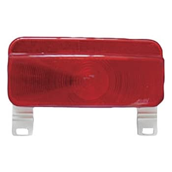 Fasteners Unlimited White 003-81L Command Electronics Surface Mount 12 Volt Taillight Base and License Bracket, Packaged