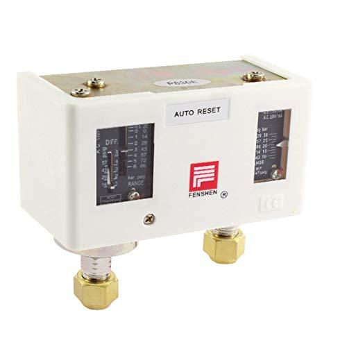New Lon0167 Refrigerador Parte Destacados 1 / 4BSP eficacia confiable Restablecimiento automático Compresor de aire Interruptor controlador de presión dual automático(id:1f2 f8 43 fcd)
