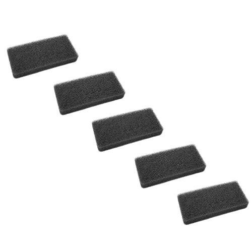 vhbw Kit de filtres (5x filtre mousse) compatible avec Gorenje SP10/321 D8450N, SP10/321 D8464N, SP10/321 D8465N Sèche-Linge;