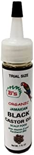 B's Organic Jamaican Black Castor Oil Scalp Food 1 oz Trial Size