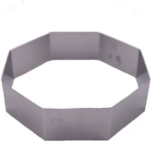 Max 76% OFF Fat Daddio's Stainless Steel Octagon Cake 2.125 and Pastry Special Campaign Ring
