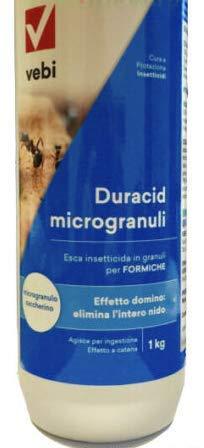 Duracid Microgranuli Esca per Formiche INSETTICIDA PIRETROIDE 1 KG