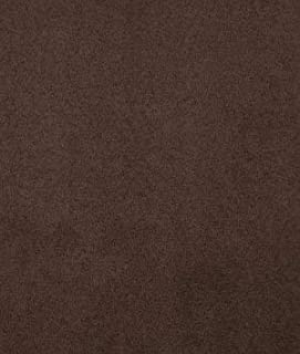 Chocolate Brown Microsuede Fabric - by The Yard