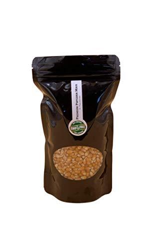 Premium Butterfly Popcorn Kinopopcorn frische Beutel XL 1:46 Premium Popcorn Popvolumen im wieder verschließbarem Beutel GMO Frei (500)
