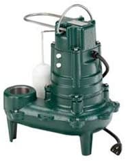 Limited price Excellence Zoeller 266-0001 Waste-Mate M266 Cast Iron 2 HP Automatic 1 Sewa