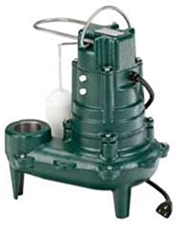 Zoeller 266-0001 Waste-Mate M266 Cast Iron 1/2 HP Automatic Sewage Pump