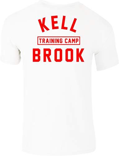 KRONK Maglietta Kell Brook Training Camp Iconic Detroit vestibilità Slim Bianco Piccolo
