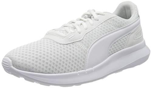 PUMA Unisex Kinder ST Activate Jr Sneaker, White White, 35.5 EU